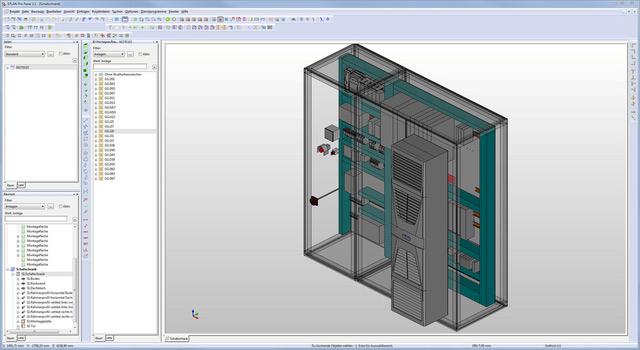 Aufbau in 3D